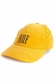 Marka Corduroy Dad Hat - Mineral Yellow
