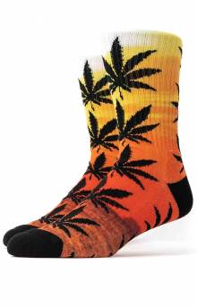 Maui Waui Plantlife Crew Sock - Sunset
