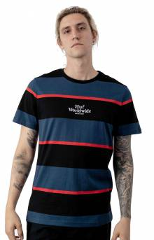 Mazon Stripe S/S Knit T-Shirt - Insignia Blue