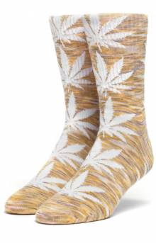 Melange Plantlife Sock - Yellow