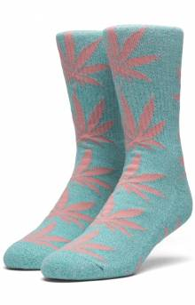 Melange Plantlife Socks - Bright Aqua
