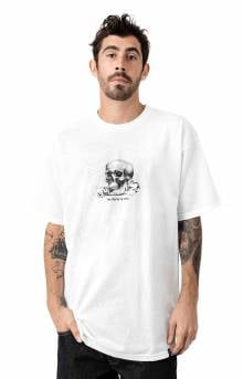 Partys Over T-Shirt - White