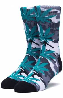 Plantlife Camo Sock - White