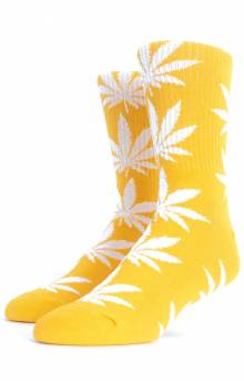 Plantlife Crew Socks - Mineral Yellow