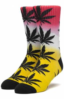 Plantlife Gradient Dye Sock - Aurora Yellow