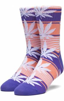 Plantlife Stripe Sock - Blue Iris