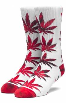 Plantlife Tie-Dye Leaves Sock - Apple
