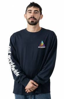 Prism Logo Sportif L/S Shirt - French Navy