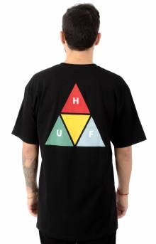 Prism Triangle T-Shirt - Black