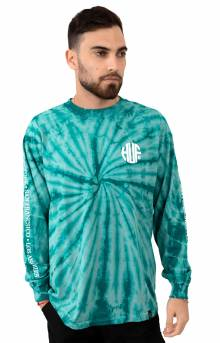 Regional Tie-Dye L/S Shirt - Deep Jungle
