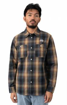 Sanford Button-Up Shirt - Rich Brown
