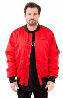 Space Race MA-1 Jacket - Red