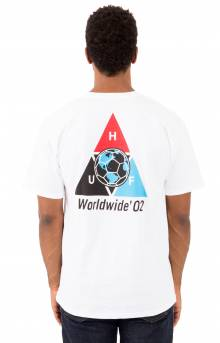 Takeover Triple Triangle T-Shirt - White