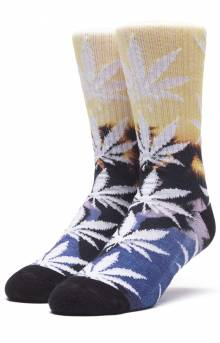 Tranquil Plantlife Socks - Sunset Yellow