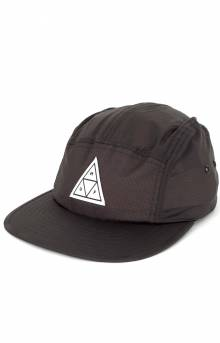 Triple Triangle Cinch Volley Hat - Black