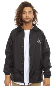 Triple Triangle Coaches Jacket - Black