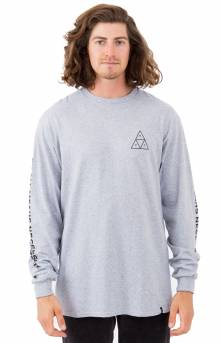 Triple Triangle L/S Shirt - H.Grey