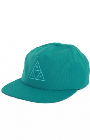 Triple Triangle Snap-Back Hat - Crystal Blue