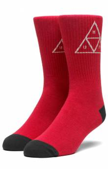 Triple Triangle Sock - Apple
