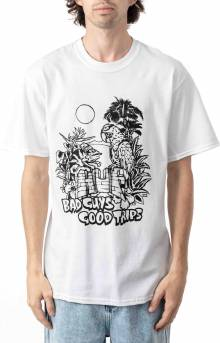 Vacation UV Color T-Shirt - White