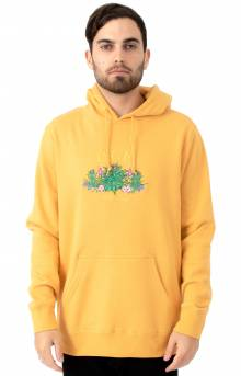 Wild Flowers Pullover Hoodie - Mineral Yellow