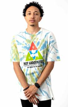 Woodstock Peaking T-Shirt - Blue