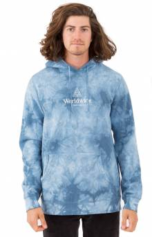 WW Triple Triangle Crystal Wash Pullover Hoodie - Light Blue