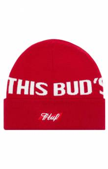 Buds For You Beanie - Red
