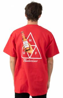 Budweiser Cheers T-Shirt - Red