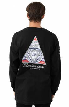 Budweiser Triangle L/S Shirt - Black