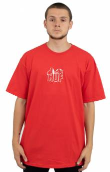 Snoopy Resting T-Shirt - Red