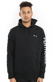 Huf x Penthouse Clothing, Penthouse Pullover Hoodie - Black