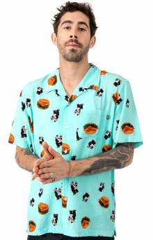 Wimpy Burger Button-Up Shirt - Mint