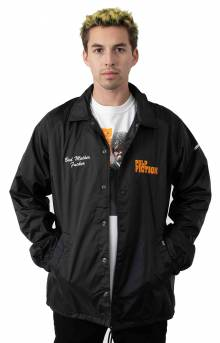 Pulp Fiction Coaches Jacket - Black