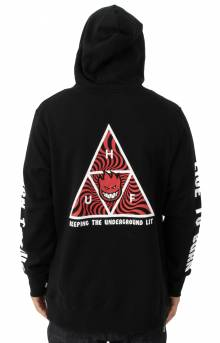 Triangle Pullover Hoodie - Black