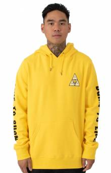 Triangle Pullover Hoodie - Yellow