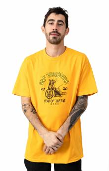 Year Of The Rat T-Shirt - Gold