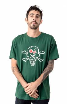 Cones And Bones T-Shirt - Dark Green