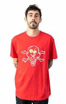 Cones And Bones T-Shirt - Tomato