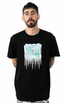 Frozen Credit T-Shirt - Black