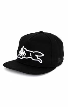 Teeth Snap-Back Hat - Black