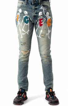 The Dead Don't Dance Jean - Medium Blue Wash