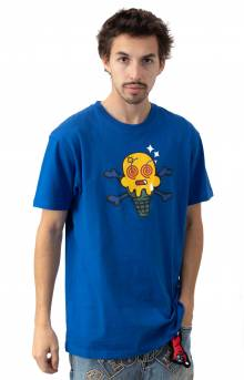 Wasted T-Shirt - Nautical Blue