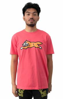 Yikes Stripes T-Shirt - Claret Red
