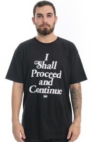 In4mation Clothing, Where The BS Ends T-Shirt - Black