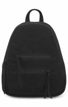 Half Pint Leather Mini Backpack - Black
