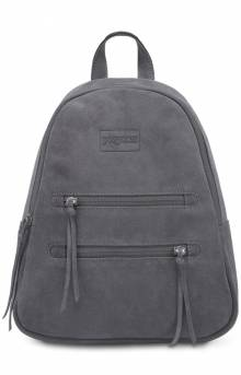 Half Pint Leather Mini Backpack - Grey Leather