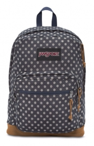 JanSport Clothing, Right Expressions Backpack - Navy Twiggy Dot