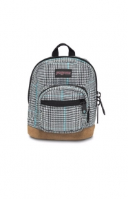 JanSport Clothing, Right Pouch - Black/White Suited Plaid