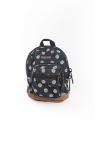 JanSport Clothing, Right Pouch - Navy Twiggy Dot